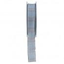 Check Ribbon Gleni width 25mm, length 20m, with wi